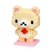 【日本KAWADA河田】Nanoblock迷你積木-拉拉熊系列-牛奶熊 NBCC-034