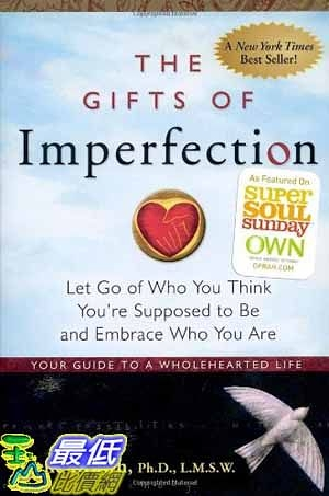 [104美國直購] 2015 美國暢銷書排行榜 The Gifts of Imperfection