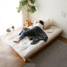 沙發床 北歐實木可折疊沙發床兩用經濟型客...