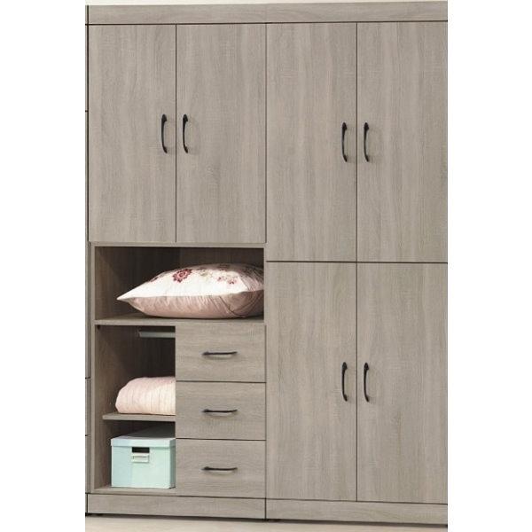 衣櫃 衣櫥 AT-536-12 卡爾5.3尺衣櫃【大眾家居舘】