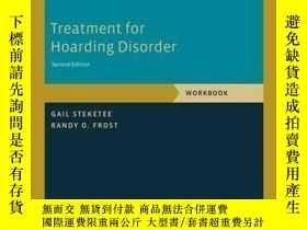 二手書博民逛書店Treatment罕見For Hoarding Disorder: Workbook (treatments Th