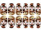 美甲貼 全甲貼new  可愛小貓咪  指甲貼貼紙  (帶背膠甲貼)   想購了超級小物