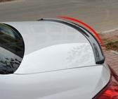 通用型汽車尾翼進口3D碳纖紋尾翼汽車改裝小尾翼 萬客城