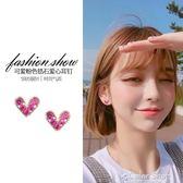 百搭愛心純銀耳釘女氣質韓國個性簡約迷你耳環耳夾冷淡風耳飾color shop