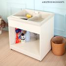【JL精品工坊】櫥櫃型雙槽塑鋼洗衣槽(無...