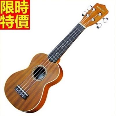 烏克麗麗ukulele-沙比利木合板21吋四弦琴樂器2款69x6【時尚巴黎】