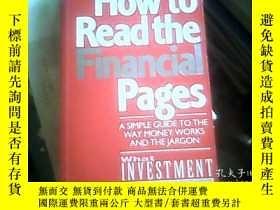 二手書博民逛書店How罕見to Read the Financial Pages