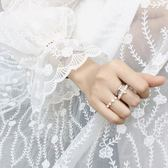 彈力繩串珠戒 張大奕裙子賣掉了飾品時尚氣質甜美日韓戒指女 【快速出貨八折免運】