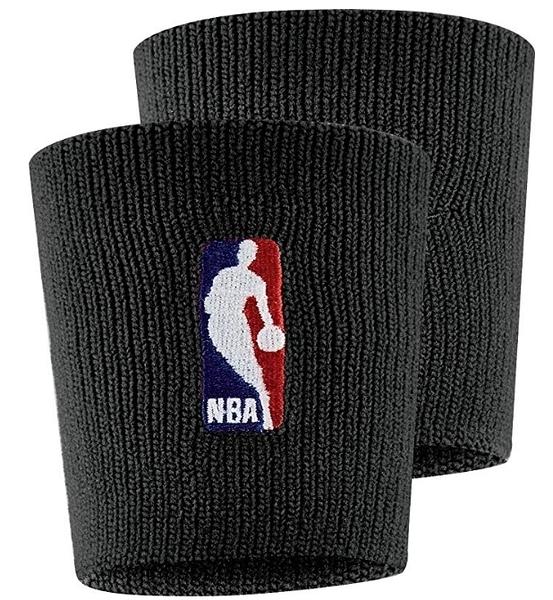 Nike NBA DRI-FIT 馬刺 [NKN03001OS] 護腕 腕帶 運動 打球 健身 吸濕 排汗 彈性 黑
