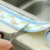 靜電式自黏水槽防水貼 寬版 捲式 浴室 馬桶 吸濕 洗漱 洗菜 絨面 防潮【N177】慢思行