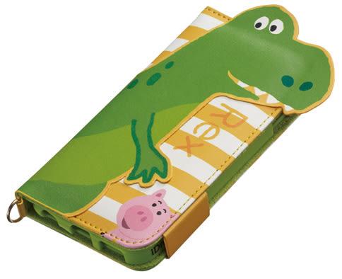 尼德斯Nydus~* 日本迪士尼 玩具總動員 抱抱龍 翻頁式 手機殼 票卡夾 鏡子 4.7吋 iPhone 6/6S