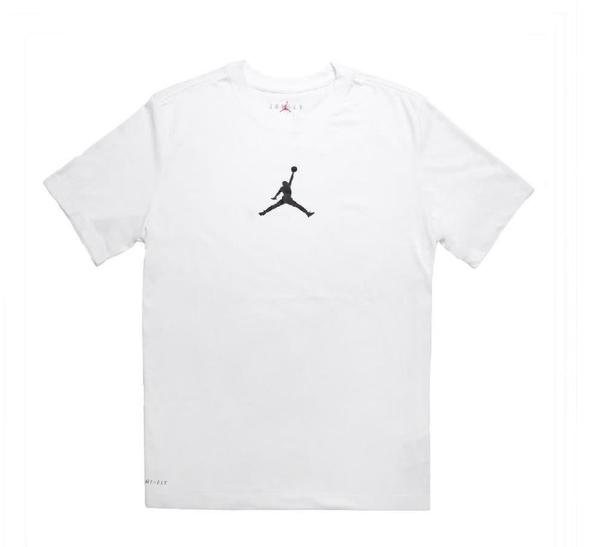 NIKE服飾系列-Jordan Jumpman Men 男款運動短袖上衣 白-NO.BQ6741100