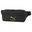 Puma Originals 黑色 腰包 側背包 運動 休閒 斜背包 多夾層 小方包 07747201