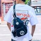 胸包男斜背包/側背包多功能背包青年學生潮流韓版休閒男士包包單肩包 一米陽光