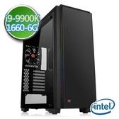 技嘉Z390平台【蒼輝刻印II】i9八核 GTX1660-6G獨顯 SSD 240G效能電腦