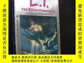 二手書博民逛書店E.T.罕見The Extra-Terrestrial 外星人Y