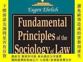 二手書博民逛書店Fundamental罕見Principles Of The Sociology Of Law-法社會學基本原理奇
