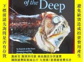 二手書博民逛書店Creatures罕見of the Deep:In Search
