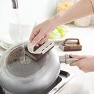 帶手柄納米金剛砂海綿擦廚房清潔刷碗海綿塊洗鍋除鐵銹海綿【七月特惠】