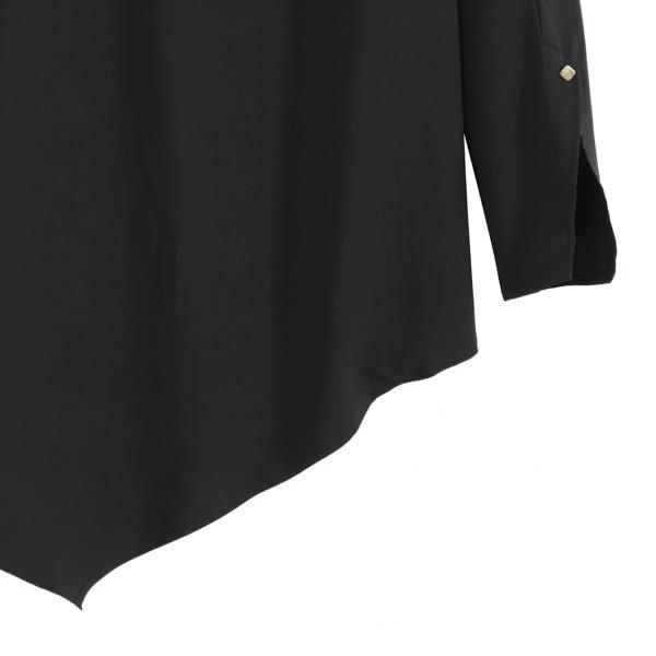 【MASTINA】不對稱造型上衣-黑 0604