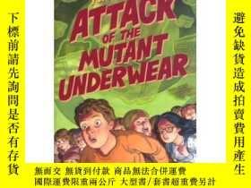 二手書博民逛書店Attack罕見of the Mutant UnderwearY