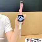 撞色T字apple watch蘋果手表錶帶iwatch【邦邦男裝】