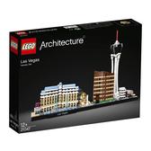 LEGO 樂高 Architecture 建築系列 21047 拉斯維加斯 Las Vegas 【鯊玩具Toy Shark】