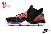 NIKE KYRIE 5 GS 成人女款 籃球鞋 運動鞋 親子鞋 O7288#黑彩◆OSOME奧森童鞋