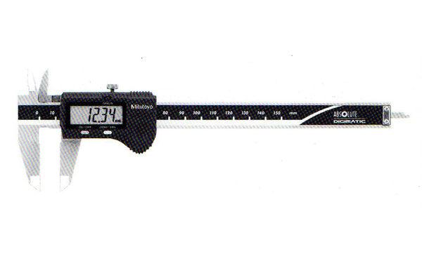 電子液晶游標卡尺150mm日本製500-196三豐Mitsutoyo