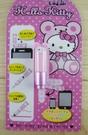 【震撼精品百貨】Hello Kitty 凱蒂貓~KITTY耳機防塵塞-粉熊(觸碰筆)