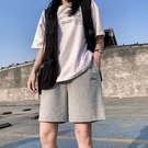 休閒短褲 2021新款純棉五分運動短褲女夏季薄款寬鬆休閒直筒港味潮ins中褲 618購物節