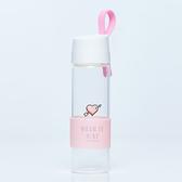 【8:AT 】時尚玻璃水瓶(透明)(未滿3件恕無法出貨,退貨需整筆退)