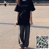 短袖T恤女夏裝寬鬆韓版原宿風半袖上衣【風之海】