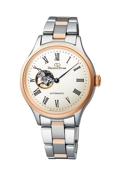 ORIENT 東方錶 機械錶 鏤空 女錶 (RE-ND0001S) 雙色玫瑰金/30.5mm