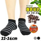【衣襪酷】咖啡炭紗細針 粗條船形襪 台灣製 愛地球 Honey Lu Lu
