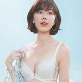 Audrey-魔塑扣 大罩杯C-E罩內衣(陽光白)