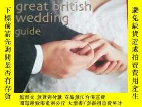 二手書博民逛書店the罕見great british wedding guide