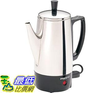 [104美國直購] Presto 02822 6-Cup B002LVUIK8 不銹鋼咖啡壺 Percolator $2007
