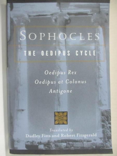 【書寶二手書T9/原文小說_H6M】The Oedipus Cycle_Sophocles/ Fitzgerald, Robert (TRN)