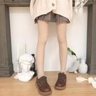 膚色自然裸感中厚打底褲襪子女秋冬光腿神器防勾絲雙層隱形連褲襪