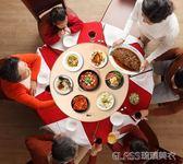 220v飯菜保溫板家用熱菜板多功能暖菜寶智慧加熱器保溫桌板旋轉暖菜板YYP  琉璃美衣