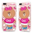 88柑仔店~GARMMA LINE Friends CHOCO iPhone 7 -空壓氣墊防摔保護軟殼