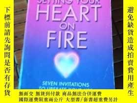 二手書博民逛書店Setting罕見your heart on fireY2067