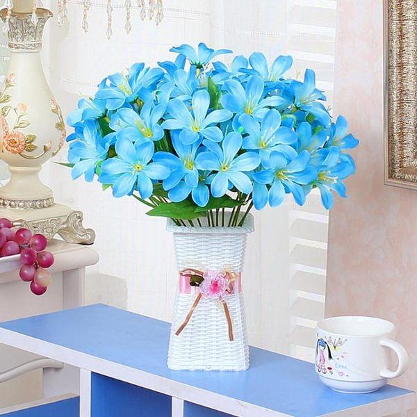 假花仿真花藝客廳餐桌家居裝飾品小盆栽擺件茶幾塑料綠植盆景擺設  喵小姐