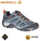 【MERRELL 美國 男 YOKOTA 2 SPORT GORE-TEX登山健走鞋《鐵灰/橘》】ML036231/登山/健行