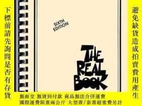 二手書博民逛書店The罕見Real BookY364682 Hal Leonard Corporation Hal Leona