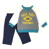 Carter s 長袖套裝 T恤上衣+長褲二件組深藍 男寶寶【CA249G262】
