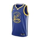 NIKE GSW M NK SWGMN JSY ICON 20 Stephen Curry 籃球 背心 藍黃 球衣 CW3665401