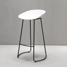 北歐簡約吧台椅創意時尚酒吧椅吧凳吧椅北歐咖啡廳前台高腳椅凳  快速出貨