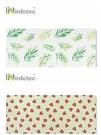 [鼎立資訊] infotec 60x30cm 可擦洗皮革滑鼠墊-草莓/綠葉